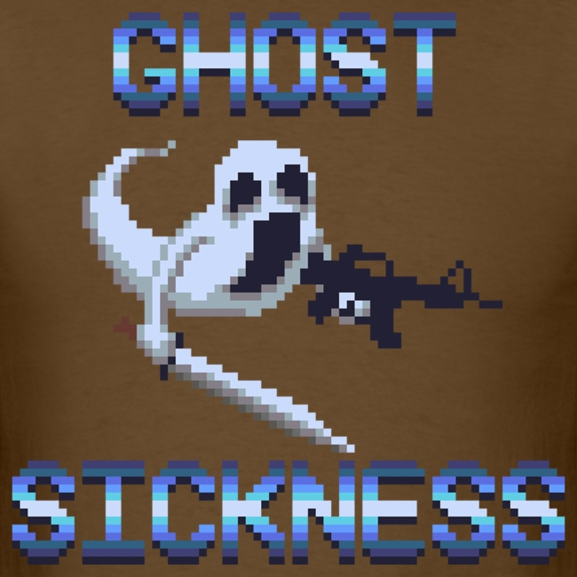 Ghostly Pixel Art