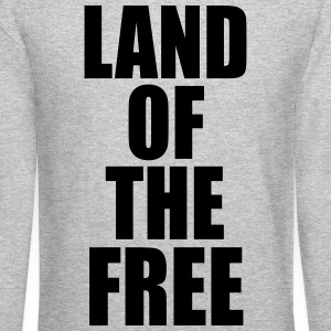 Land of the free Long Sleeve Shirts - Crewneck Sweatshirt