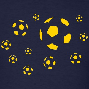 Soccer balls - Men's T-Shirt