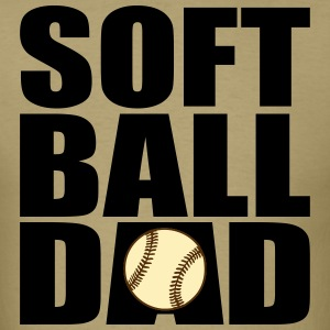 Softball Dad (Men's) - Men's T-Shirt