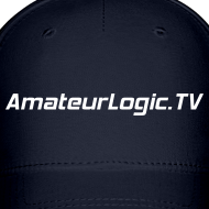 Design ~ AmateurLogic.TV Ball Cap (White Logo)