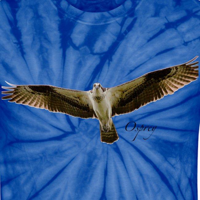Osprey on Tied-dye