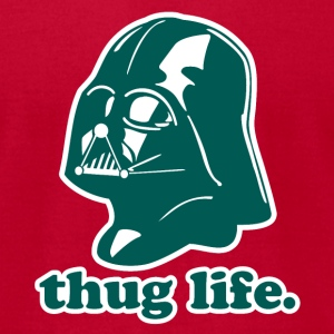 Thug Life Star Wars - Men's T-Shirt by American Apparel
