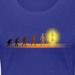 visionary evolution  Women's T-Shirts - Women's Premium T-Shirt