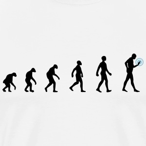 evolution smartphone T-Shirts - Men's Premium T-Shirt