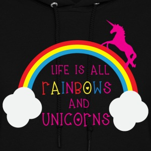 Rainbows & Unicorns Hoodies - Women's Hoodie