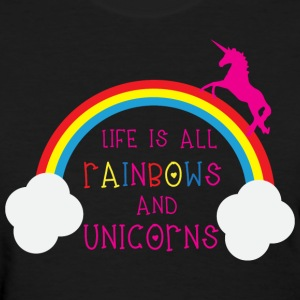 Rainbows & Unicorns Women's T-Shirts - Women's T-Shirt