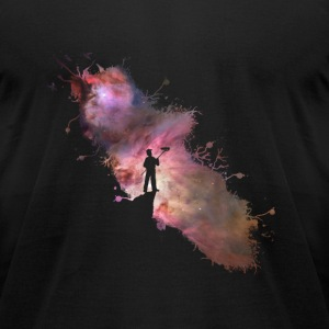 Starry sky painter supernova space star 03 T-Shirts - Men's T-Shirt by American Apparel