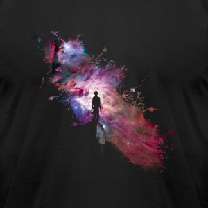 Starry sky painter supernova space star 02 T-Shirts - Men's T-Shirt by American Apparel