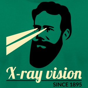 Researcher and invention: Röntgen + rays T-Shirts - Men's T-Shirt by American Apparel