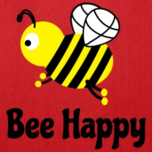 bee happy cute bee Bags & backpacks - Tote Bag
