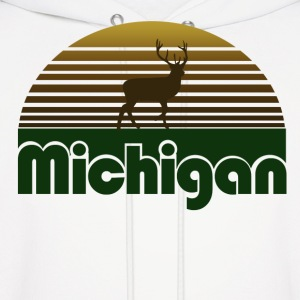Michigan Deer - Men's Hoodie