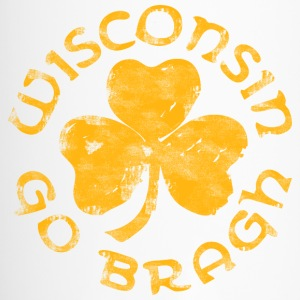 Wisconsin Go Bragh Bottles & Mugs - Travel Mug