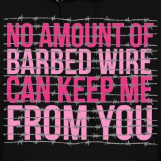 Barbed Wire Hoodies