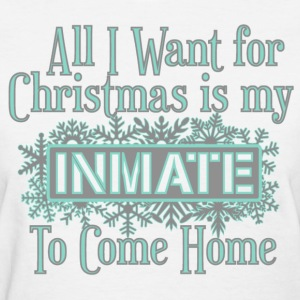 All I Want For Christmas - Blue Women's T-Shirts - Women's T-Shirt