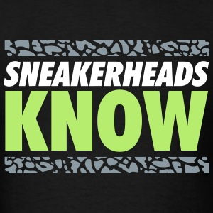 sneakerheads know 2 T-Shirts - Men's T-Shirt