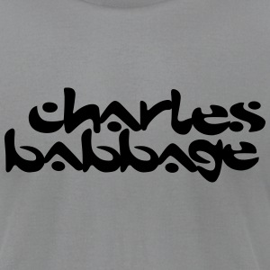 Charles Babbage / Chemical Brothers T-Shirts - Men's T-Shirt by American Apparel