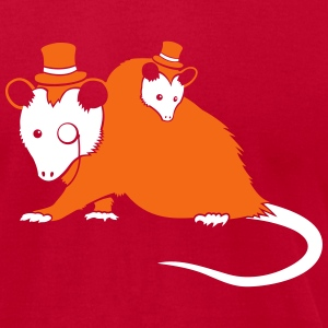 Sir Opossum T-Shirts - Men's T-Shirt by American Apparel