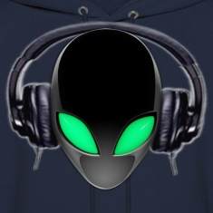 Alien Music Lover DJ