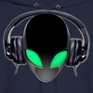 Design ~ Alien Contact Music Lover DJ