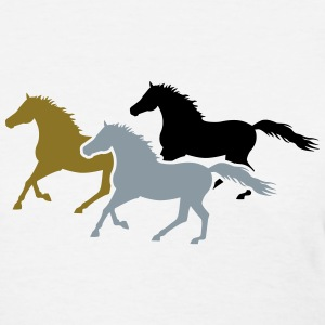 Herd of Galloping Horses Women's T-Shirts - Women's T-Shirt