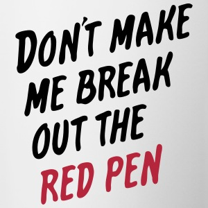 Red pen - Coffee/Tea Mug