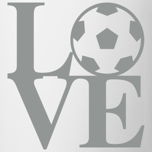 Soccer Love Art Bottles & Mugs - Coffee/Tea Mug