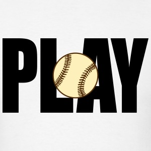 Play Baseball (Men's) - Men's T-Shirt