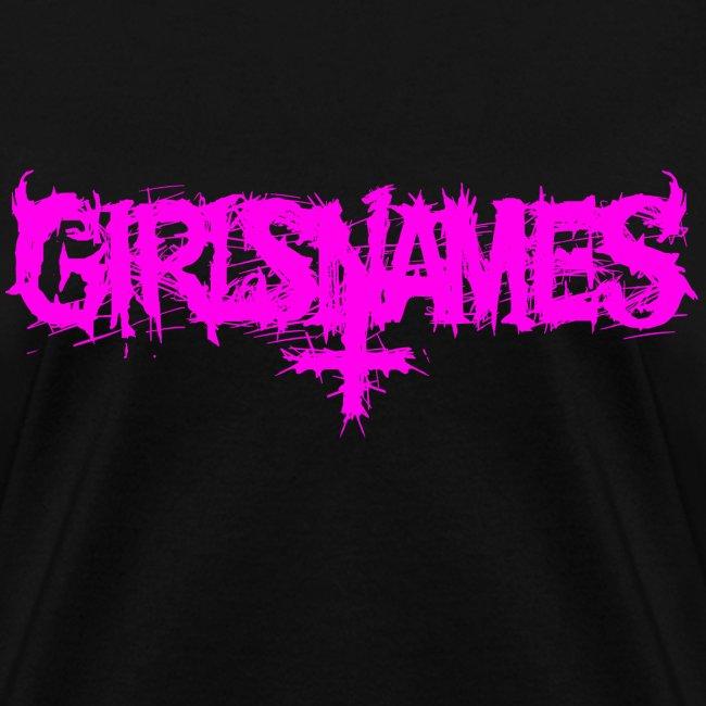 """GIRLS NAMES """"Logo"""" GIRLS TEE"""