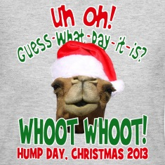 Christmas Hump Day Camel Keepsake T-shirt