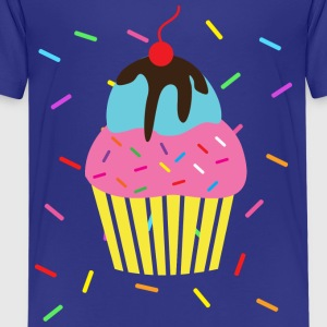 Birthday Cupcake Icecream Sprinkles - Kids' Premium T-Shirt