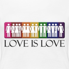 Love is Love - LGBT Equality Women's T-Shirts