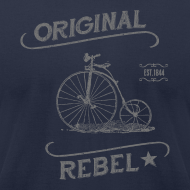 Design ~ Original Rebel - Men's (gray)