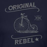 Design ~ Original Rebel - Women's Gray Long Sleeve