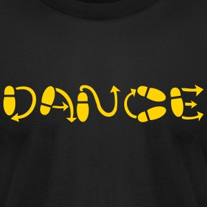 dance T-Shirts - Men's T-Shirt by American Apparel