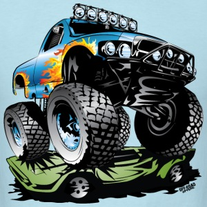 Monster Race Truck T-Shirts - Men's T-Shirt