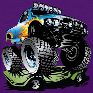 Monster Race Truck Women's T-Shirts - Women's T-Shirt