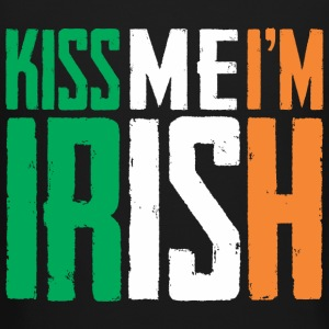 Kiss Me I'm Irish Long Sleeve Shirts - Crewneck Sweatshirt