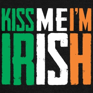 Kiss Me I'm Irish Long Sleeve Shirts - Women's Wideneck Sweatshirt