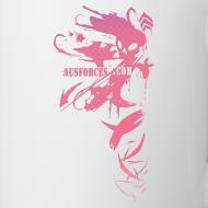 Design ~ AUF Coffee / Tea Mug - alt logo design 2 with Text Box