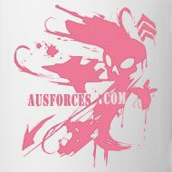 Design ~ AUF Coffee / Tea Mug - alt logo design with Text Box