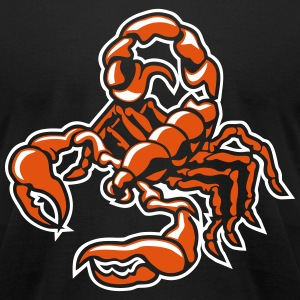 scorpion T-Shirts - Men's T-Shirt by American Apparel