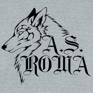 Tribal Wolf - Unisex Tri-Blend T-Shirt by American Apparel