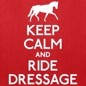 Keep Calm and Ride Dressage Bags & backpacks - Tote Bag