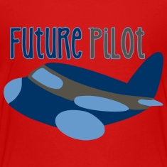 Future Pilot Kids' Shirts
