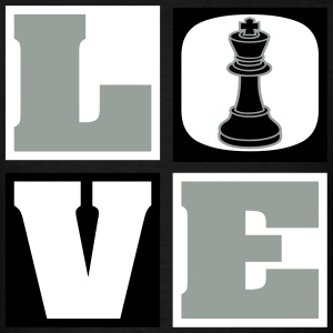 Love Chess (Men's) - Men's T-Shirt