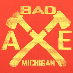 Bad Axe Michigan Bags & backpacks - Tote Bag