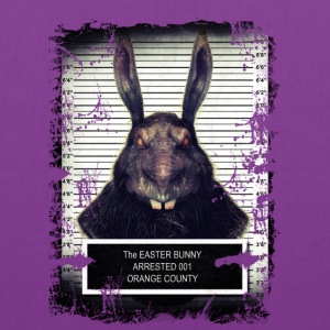 Evil Easter Bunny Rabbit SOLO - Tote Bag