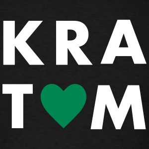 I LOVE KRATOM T-Shirts - Men's T-Shirt