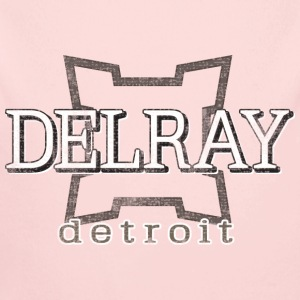 Delray, Detroit Baby & Toddler Shirts - Long Sleeve Baby Bodysuit